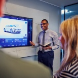 Mercedes-Benz photo: We drive careers, not just cars