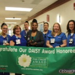 Celebrating one of our Daisy Award winners