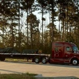 JLE Industries photo: Loaded and rollin' miles.