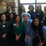 Sky Ridge Medical Center photo: Wearing blue and green in support of organ, tissue and eye donation #DonateLife