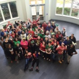 Integrity Staffing Solutions photo: 2015 Holiday Ugly Sweater Group Photo!
