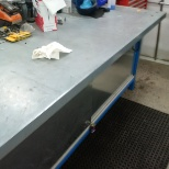 Maintenence dept lead hand work desk