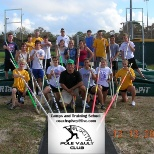 My Pole Vault camp picture in 2009