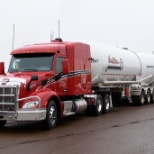 Westcan Bulk Transport photo: We maintain a modern fleet of equipment.