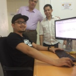 a photo with our Discipline Engineer & BIM Modeler