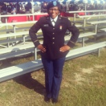 Graduation day from basic training