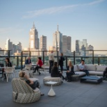 PwC photo: PwC Australia - Melbourne roof terrace