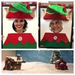 Ledcor photo: Our HR team have lots of smiles and fun at the office during the holiday season!