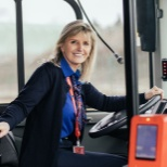 Michèle, conductrice de bus