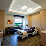 Forest Park Medical Center photo: Luxurious and comfortable patient rooms at Forest Park Southlake