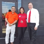 Siomaly Otero Account Executive Ft. Myers-Naples and Managers @ Grand Opening McD