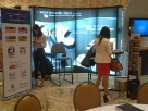 our booth at SIA's CWS Conference