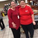 Our staff in red for National Wear Red Day for heart disease awareness