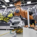 Daimler AG photo: robotics