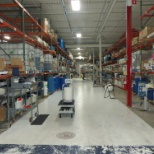 Apex International photo: Chemical receiving area