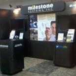 Milestone Systems, Inc photo: Milestone's New Booth at Secure 360 - Minneapolis, MN