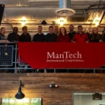 Some of the ManTech team at our NOVA Networking Event