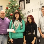 Rockford's Branch Office 2013 Donation to the Rockford Rescue Mission