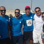GE Corporate photo: Company team participation in Marathon