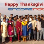 ENJOYING THE CARRIERS OF ENCORE INDIA BEAUTIFUL & HARD WORKING STAFF