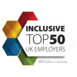 Bupa named no 7 in the Inclusive Top 50 UK Employers list.