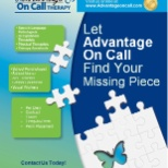 Advantage RN photo: Let Advantage On Call help YOU find your next Allied Health Position---local or travel!