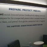 The Hartford Financial Services photo: Prepare. Protect. Prevail.