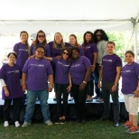 Volunteer day at CAMH's annual BBQ