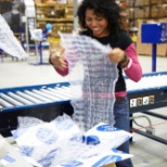 Pier 1 Imports photo: Fulfillment gets to pack up merchandise which will delight our customers.