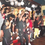 YMCA dance at hard rock cafe fiji island