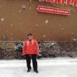 photo of Boston Pizza, First Picture in Snow