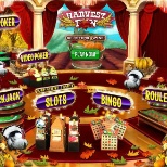 Check out our new Thanksgiving themed casino lobby!