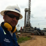 Schlumberger photo: Taladro Saxon - SLB