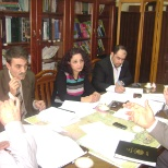 one of curriculum meetings