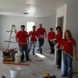 The Dow Chemical Company photo: Employees from St. Charles Operations volunteering at Habitat for Humanity