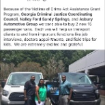 Asbury Automotive Group photo: PADV helps serve the community with the purchase of 2 Nally Ford passenger vans!