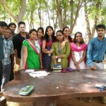 Birthday celebration of employees