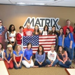 MATRIX Dallas watching the US play in the World Cup