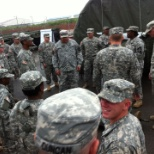 Im on the left. This is when we was conducting our Sergeants Time Training