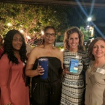 Brittany, Miranda, OR Tech, Diane, Chief Talent Acquisition, and Mary Kay, VP at the Florida event.