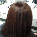 Color/Highlights, Cut and blow dry flat