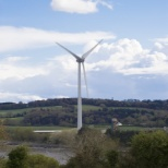Cork wind turbine