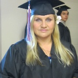 My graduation picture- August 16, 2013