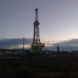 Unit Drilling photo: rig