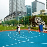Digital City - basketball and soccer