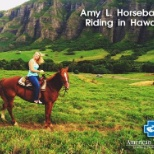 Amy L. on assignment in Hawaii.