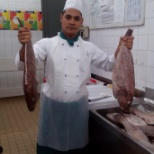 WORKING IN BUTCHER