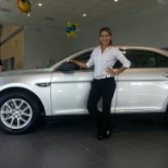 Baytown Ford photo: Advertising Ford Taurus