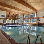 Indoor heated pool.