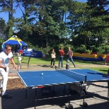 A bit a healthy competition at the Bentley Summer BBQ